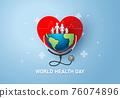 World Health Day concept 76074896