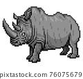 人物 犀牛 動物 76075679