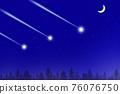 star, starry sky, night-sky 76076750