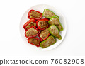 Meat stuffed with green peppers 76082908