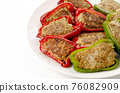 Meat stuffed with green peppers 76082909