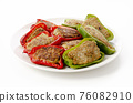Meat stuffed with green peppers 76082910
