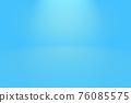 Abstract Luxury gradient Blue background. Smooth Dark blue with Black vignette Studio Banner. 76085575