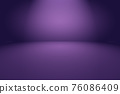 Studio Background Concept - abstract empty light gradient purple studio room background for product. 76086409