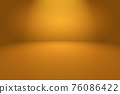Abstract Orange background layout design,studio,room, web template ,Business report with smooth circle gradient color. 76086422