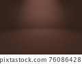 Abstract Smooth Brown wall background layout design,studio,room,web template,Business report with smooth circle gradient color 76086428