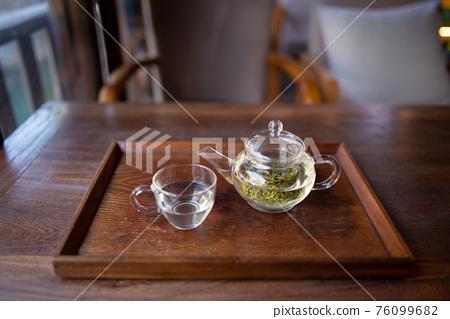中國蘇州的中國茶 76099682