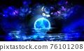 夜晚 夜晚時光 月亮 76101208