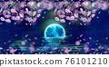 夜晚 夜晚時光 月亮 76101210