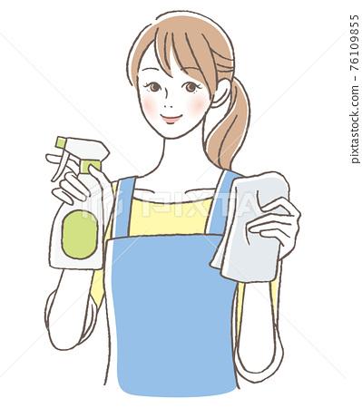 女人清洗 76109855