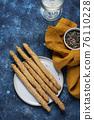 Italian bread sticks grissini 76110228