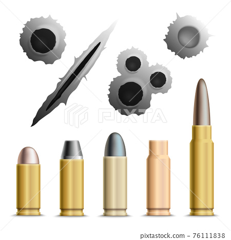 Holes And Bullets Collection 76111838