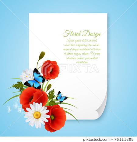 8 March Realistic Postcard 76111889