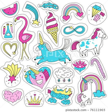 Cute Magic Patches Set 76111903