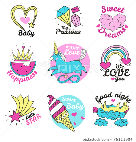 Cute Magic Emblems 76111904