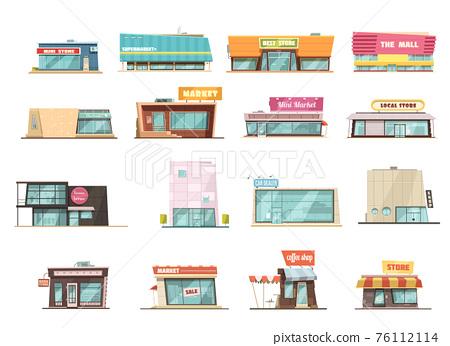 Shop Building Set 76112114
