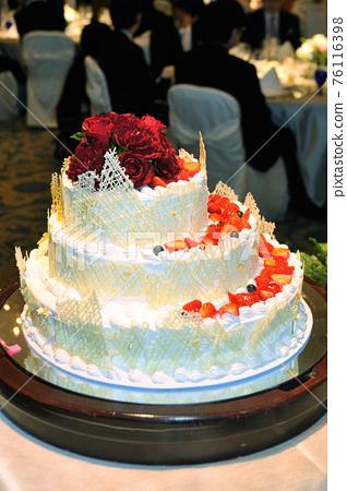 新娘的形象,愛情的讚美詩,優美而燦爛的婚禮 76116398