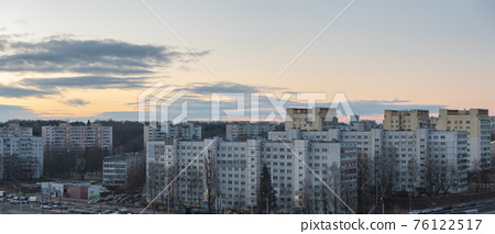 winter and snow Minsk 76122517