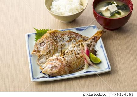 魚乾 鯛魚 鯛 76134963