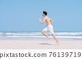 Man, sea, summer 76139719