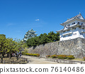 名古屋城堡在夏天 76140486
