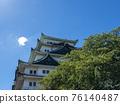名古屋城堡在夏天 76140487