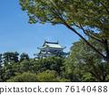 名古屋城堡在夏天 76140488