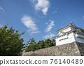 名古屋城堡在夏天 76140489