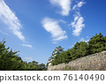 名古屋城堡在夏天 76140490