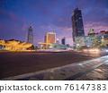 Night panorama of the capital of Indonesia - Jakarta. 76147383