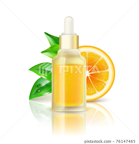 Citrus Vitamin Natural C Realistic Image 76147465