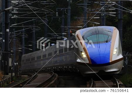 hokuriku shinkansen, brilliance, jr nishinihon 76150641