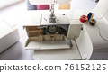 electric sewing machine with thread and bobbin 76152125