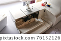 electric sewing machine with thread and bobbin 76152126
