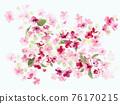 色彩豐富的花卉素材組合和設計元素 76170215