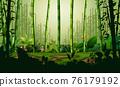 Illustration of bamboo forest landscape background 76179192