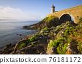 Petit Minou lighthouse near Brest city, Bretagne 76181172