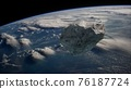 Dangerous asteroid approaching planet Earth 76187724