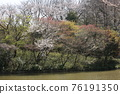 I walked in Mitsuike Park on a sunny day 76191350
