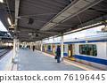 【도쿄】 1 월 · 신바시 역의 풍경 76196445