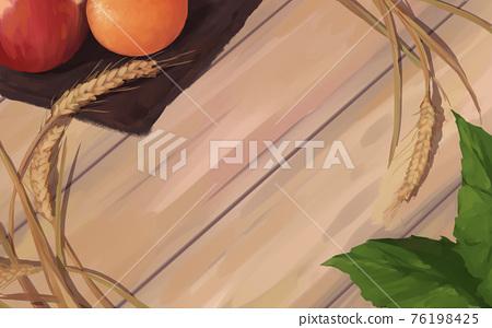 蘋果 小麥 桌子 76198425