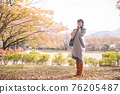 秋天 秋 楓樹 76205487