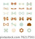 彩帶 緞帶 蝴蝶結 76217561