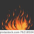 燃燒的火焰 76218504