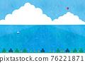 summer, blue water, marine 76221871