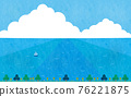summer, blue water, marine 76221875