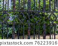gate, made of iron, fence 76223916