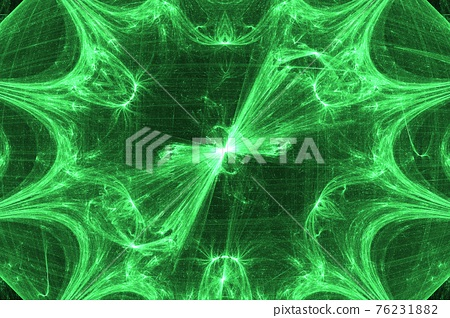 Fractal gravel. Abstract colorful picture 76231882