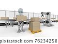 Robot in factory 76234258