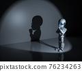Thinker man robot 76234263